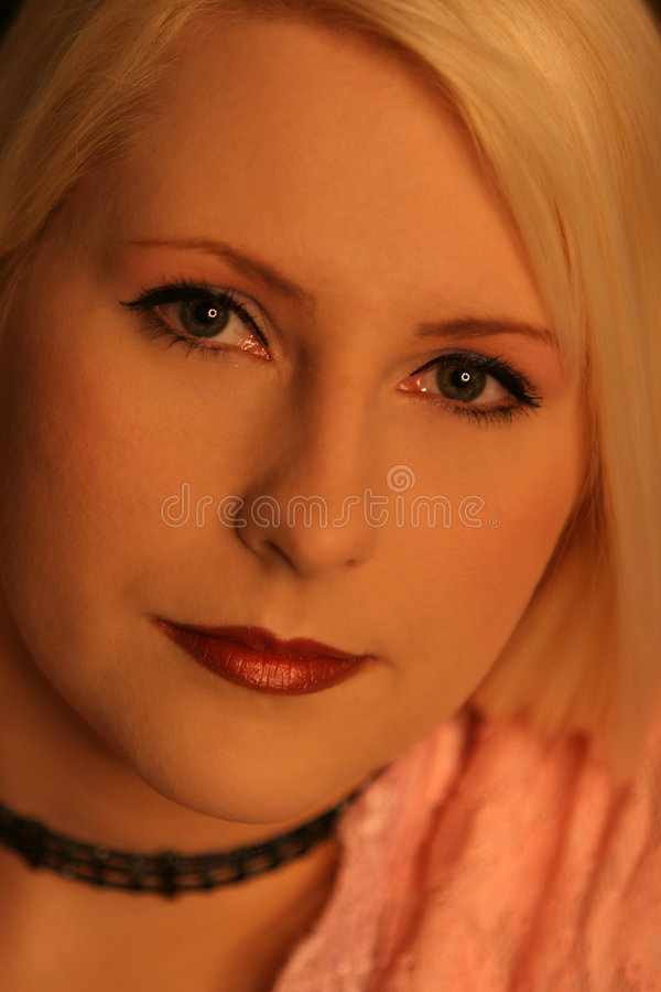 Download Blond Pink2 stock image. Image of pretty, blonde, skincare - 243983