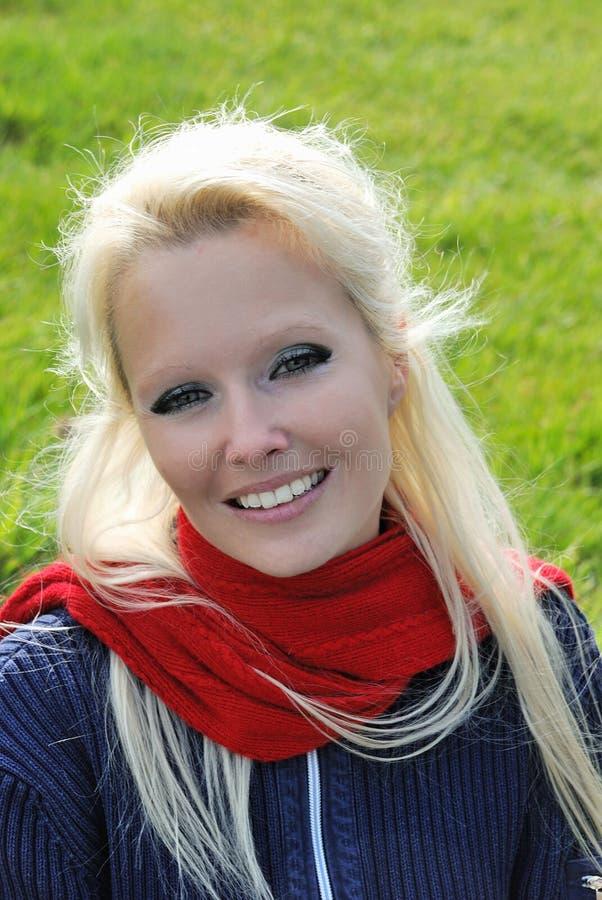 blond portret kobiety fotografia stock