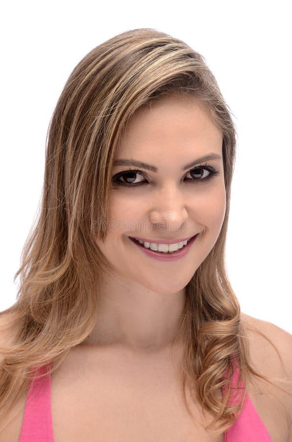 blond pretty woman obrazy royalty free