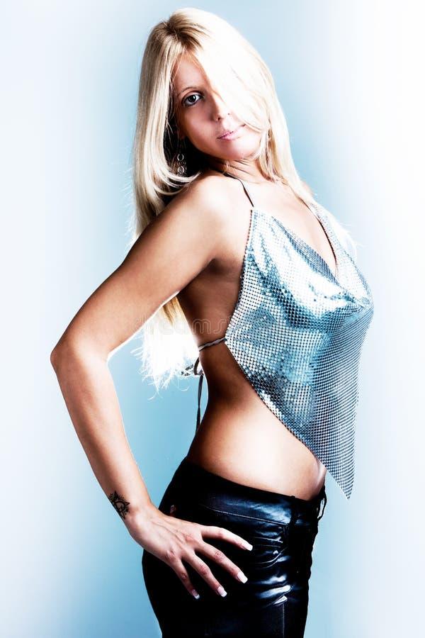 Blond sexy images libres de droits
