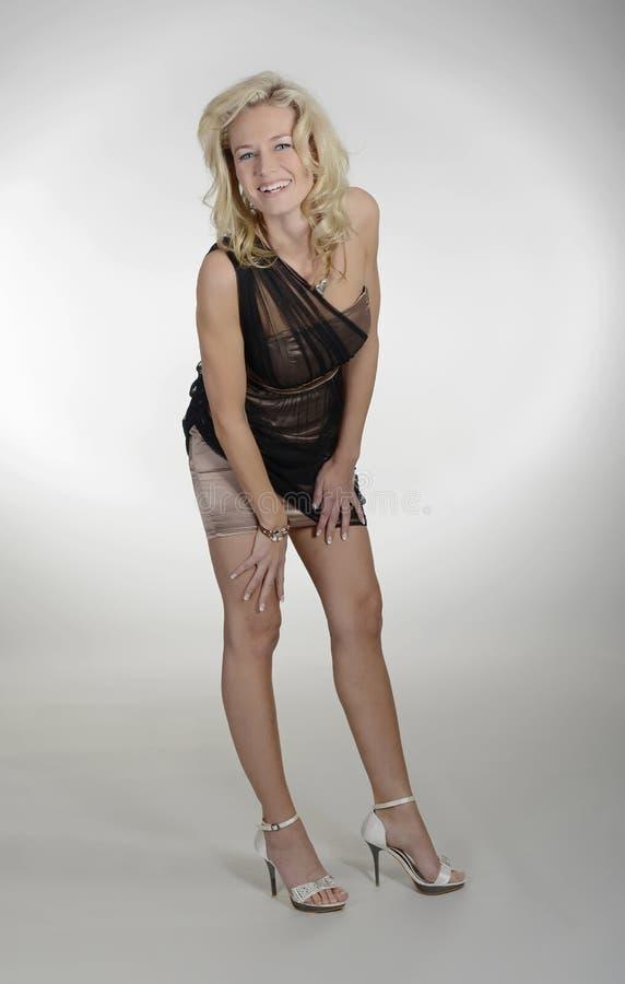 blond się kobiety zdjęcie royalty free