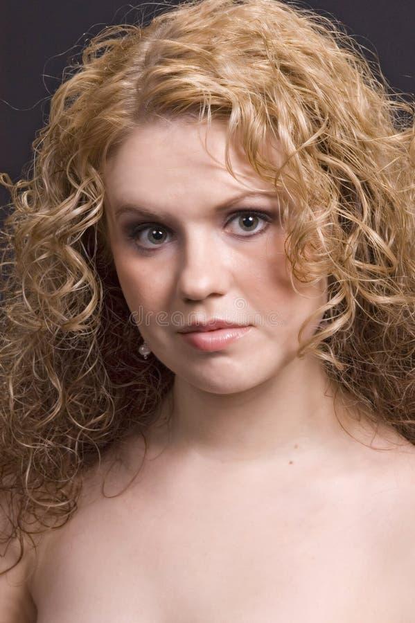 Download Blond stående arkivfoto. Bild av uttryck, barn, sexigt - 285144
