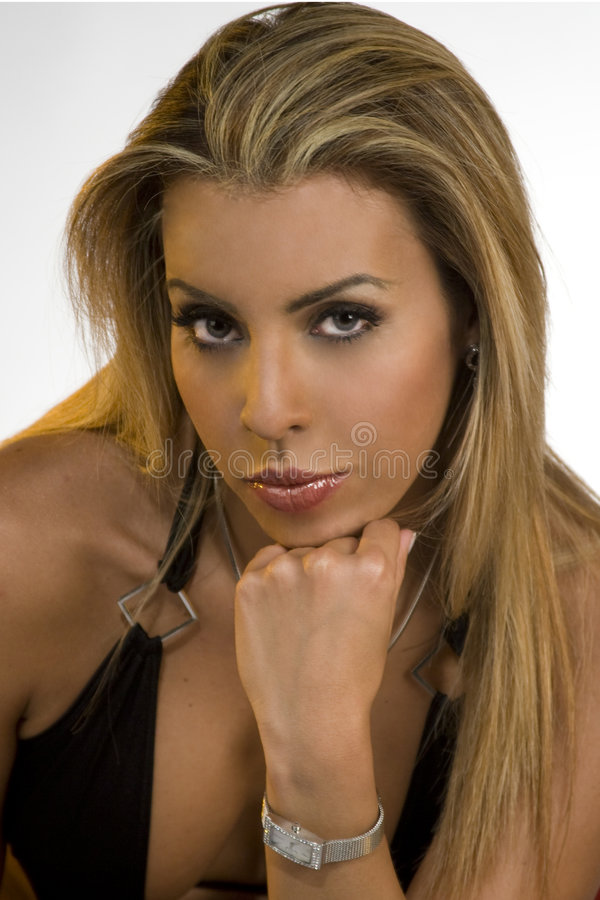Download Blond in the Sudio stock image. Image of ladies, hairstyles - 6724189