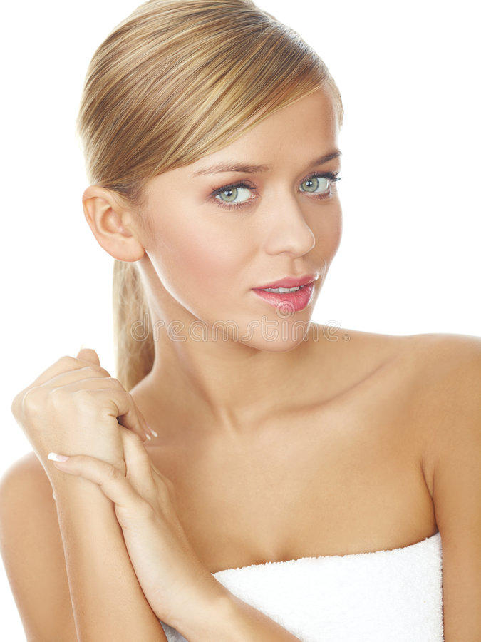 Download Blond Sweety stock image. Image of clean, relaxing, smile - 8085337