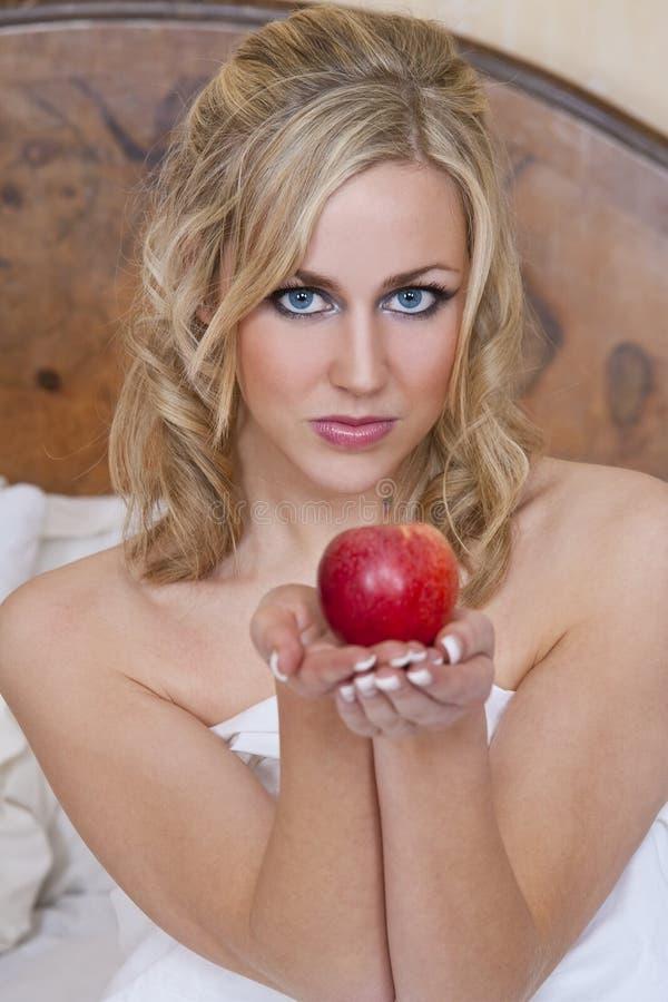 Blond verleiden royalty-vrije stock foto's
