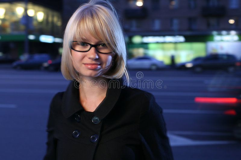 Download Blond woman stock photo. Image of lights, face, dramatic - 8614472