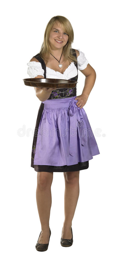 Download Woman in a dirndl stock image. Image of traditional, blouse - 30285277