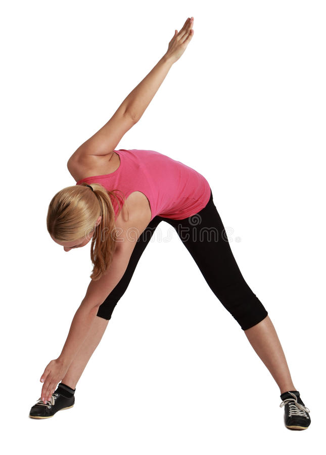 Download Active Woman stock photo. Image of female, isolated, flexable - 29914812