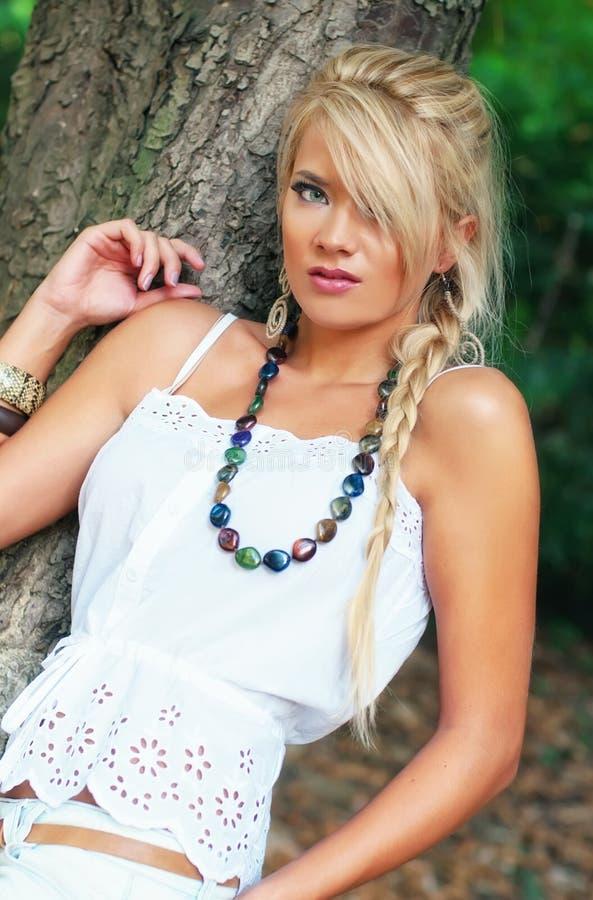 Download Blond wonderful women stock photo. Image of slim, make - 21388886