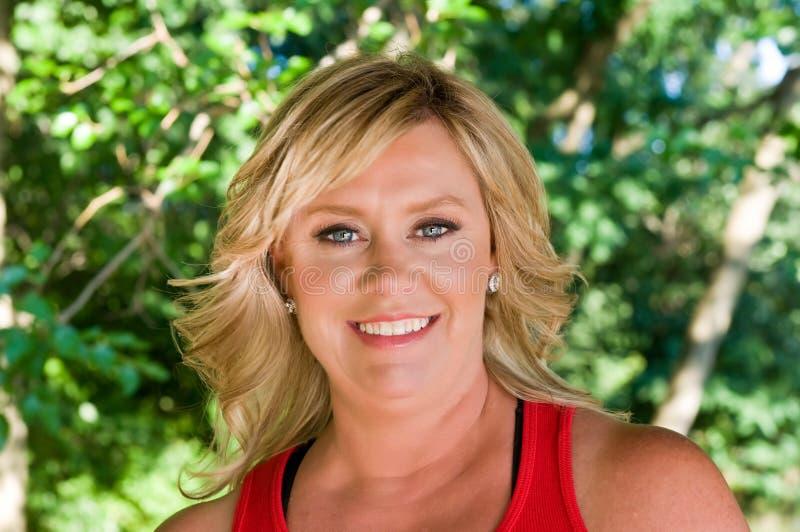 blond wspaniała kobieta fotografia royalty free