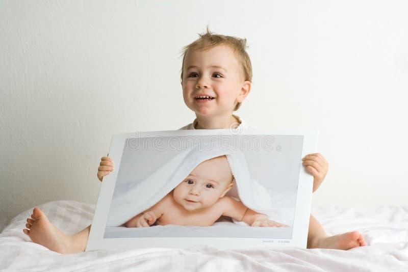 blonda pojkar little arkivfoto