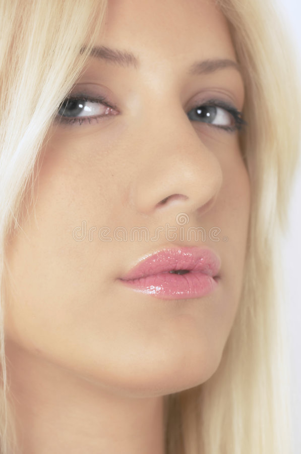 blondasie portret sexy fotografia stock