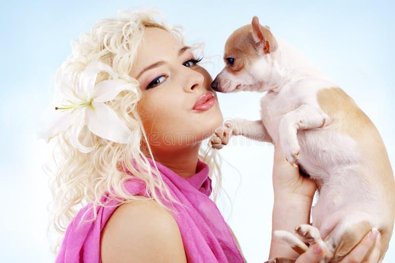 Blonde stock foto