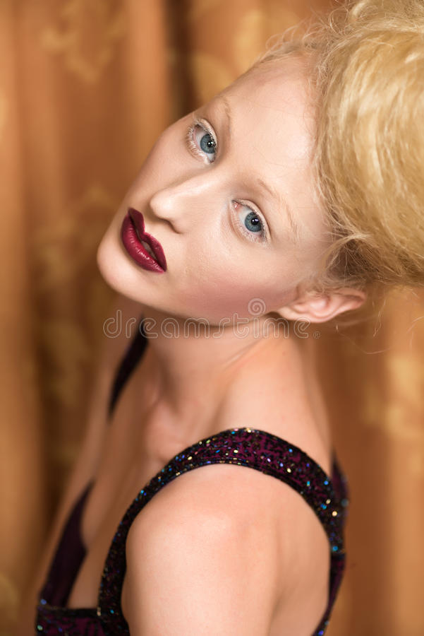 Blonde Royalty Free Stock Photo