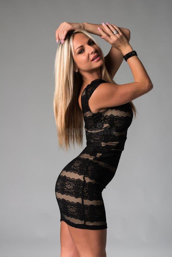 Blonde royalty-vrije stock afbeeldingen