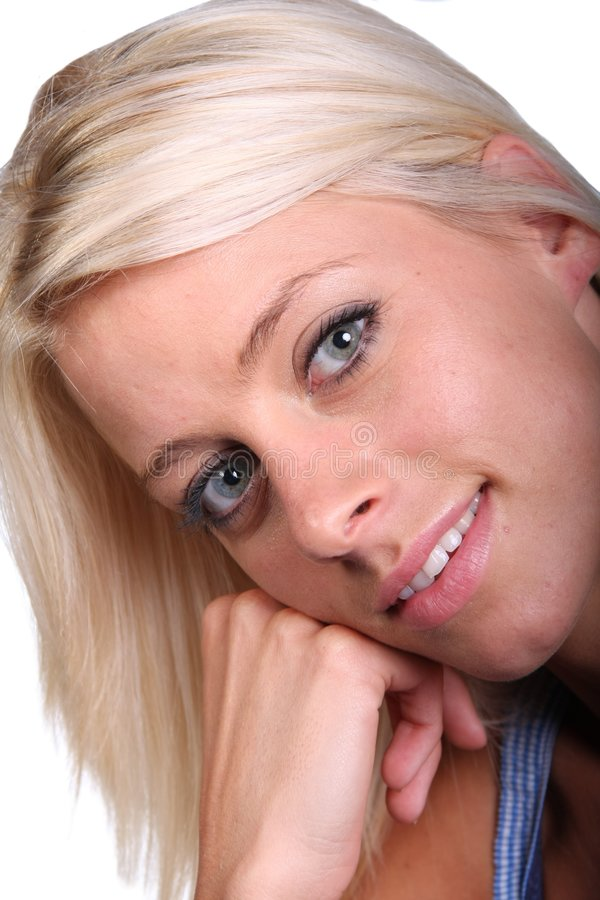 Blonde Beauty Girl royalty free stock photos