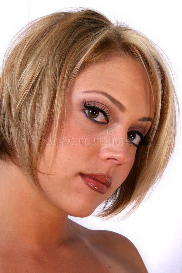 Blonde Bom royalty-vrije stock foto