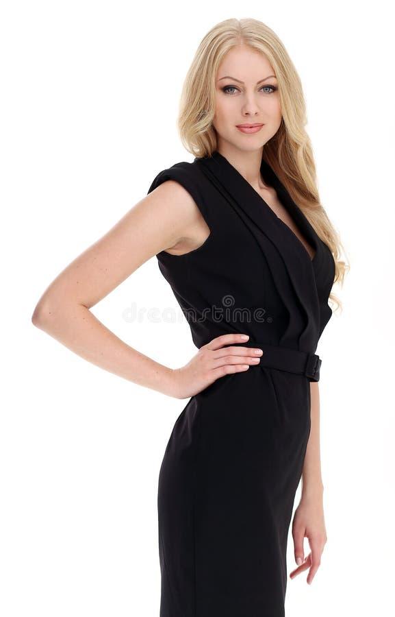 blonde bonito com cabelo curly imagem de stock royalty free