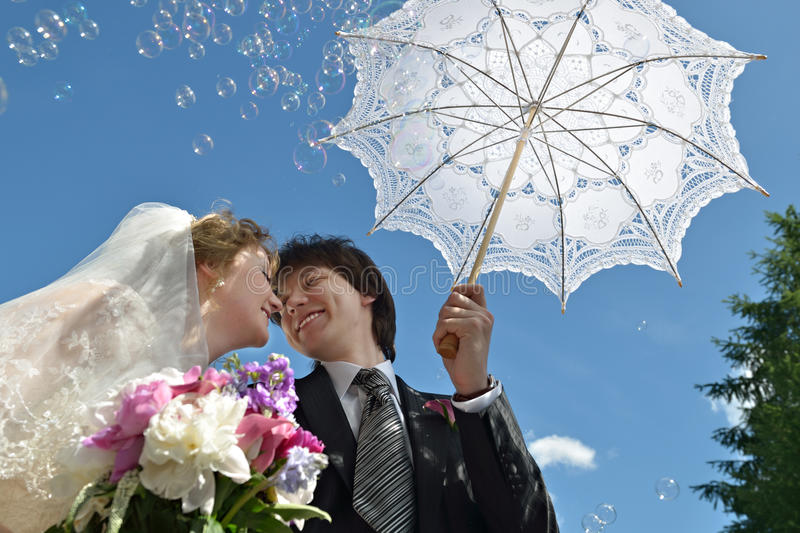 Download Blonde Bride And Groom Stock Photography - Image: 19838422