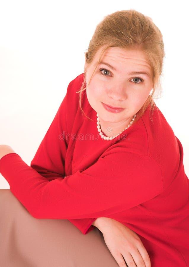 Blonde Businesswoman royalty free stock image