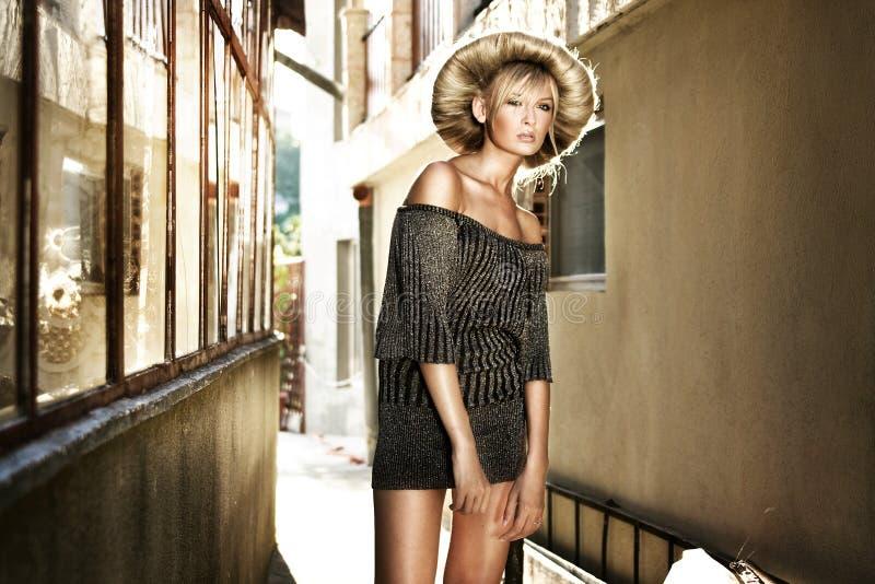 Blonde di Georgeus fotografia stock
