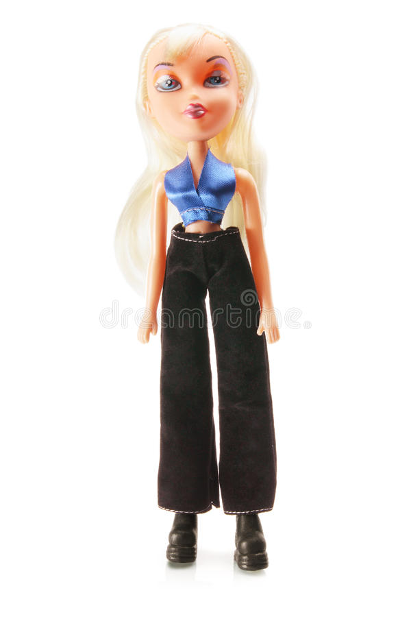 Blonde Doll stock photography