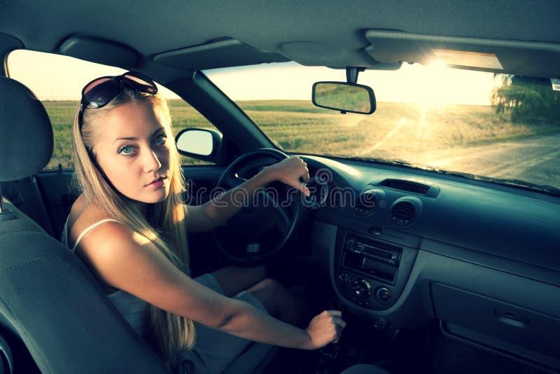 Blonde Driver Stock Photos