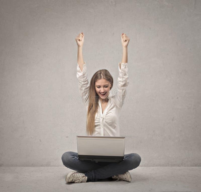 Download Blonde Girl Joy stock photo. Image of caucasian, gesture - 28621244