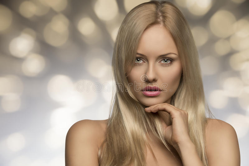 Blonde Girl With Natural Look Stock Image - Image Of Natural, Alluring 35861623-4854