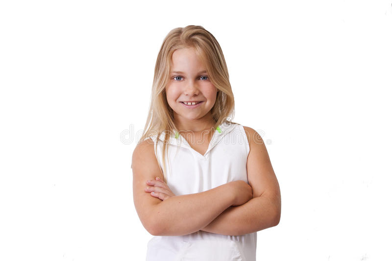 Download Blonde girl stock photo. Image of model, children, person - 33432462