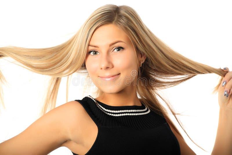 Blonde Haare stockfoto