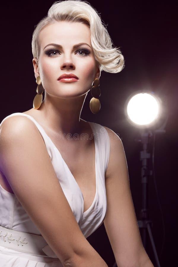 Blonde magnifique photos libres de droits