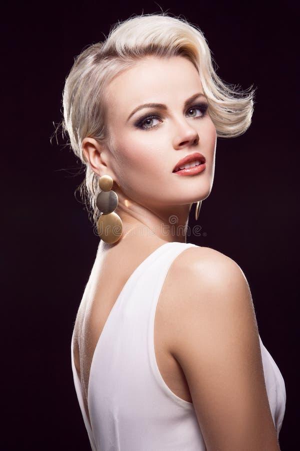 Blonde magnifique photo libre de droits