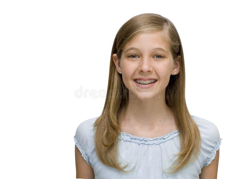 Blonde mignonne photo stock
