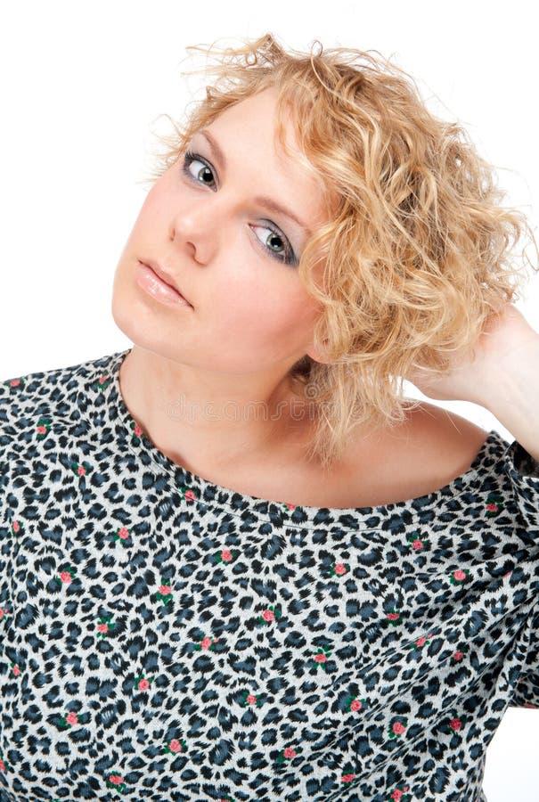 Blonde novo bonito fotos de stock