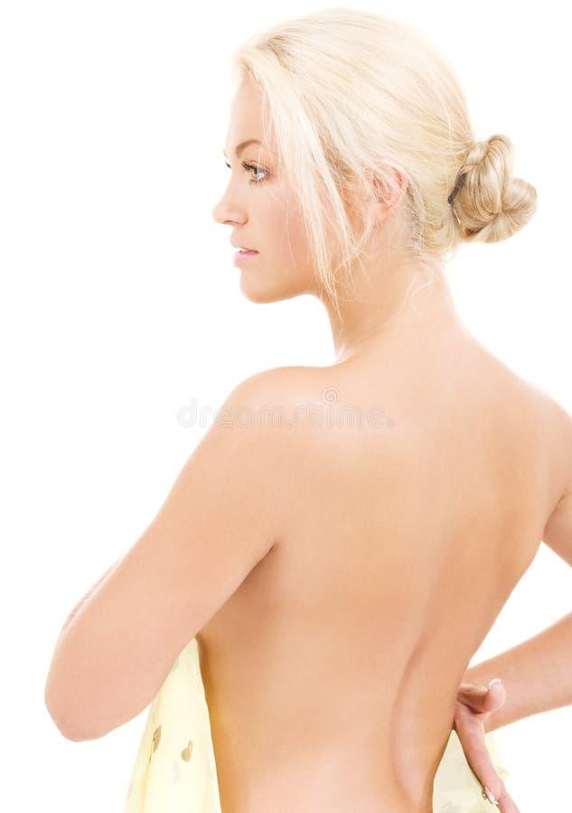 Blonde precioso foto de archivo libre de regalías