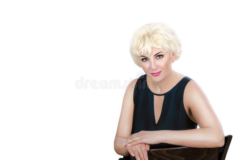 Reife asiatische und blonde Frau