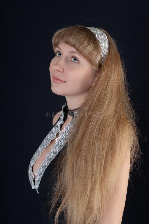 Blonde romantico immagine stock