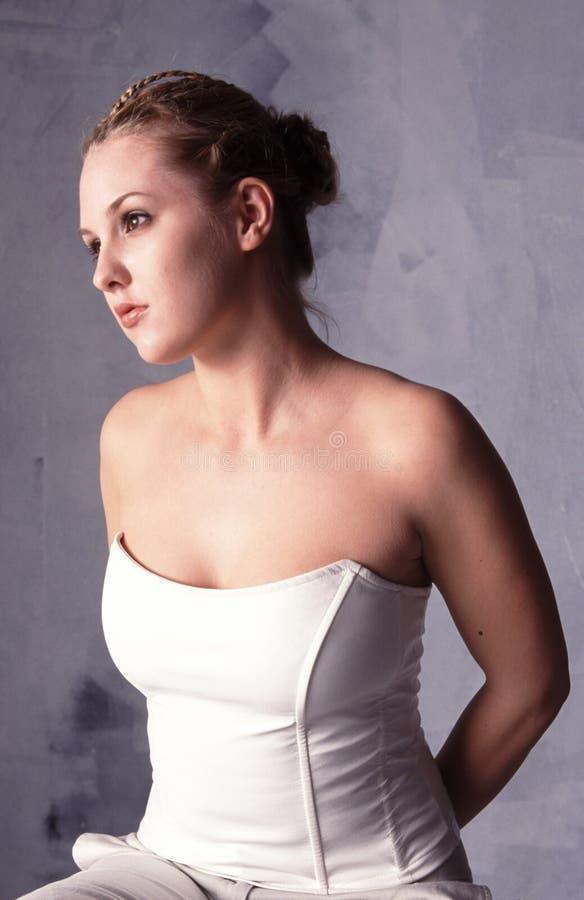 Blonde Schönheit stockbilder