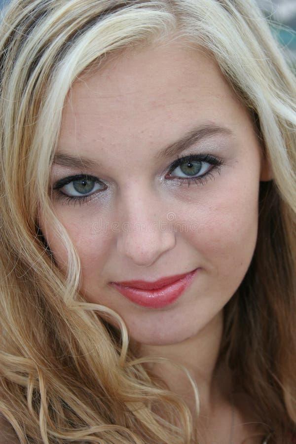 Blonde  Sexy  Fotografia de Stock
