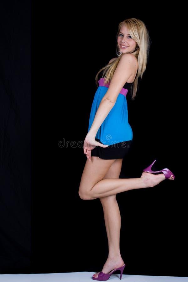 Blonde sexy images libres de droits