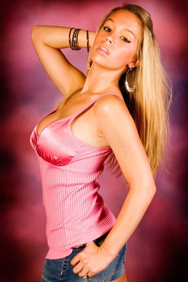 Blonde sexy photos libres de droits