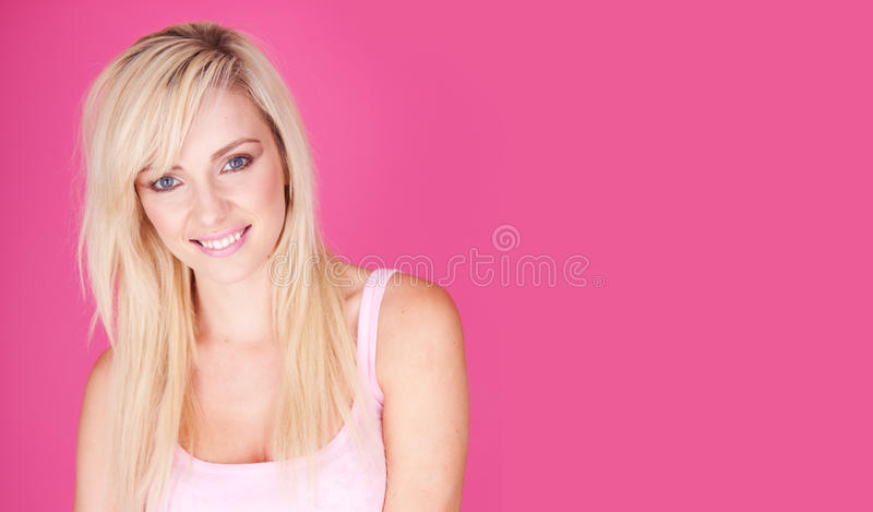 Blonde Smile Royalty Free Stock Images