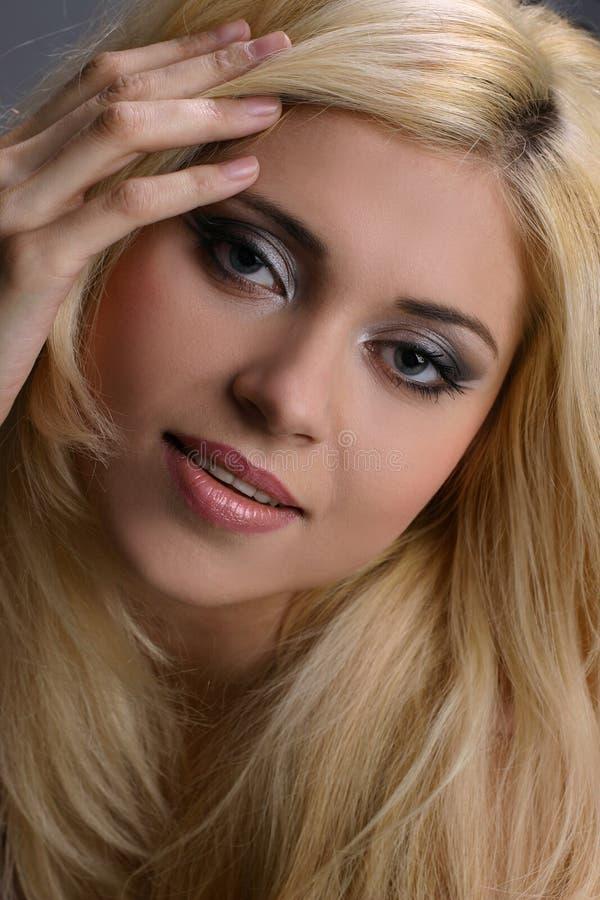 Blonde sweet looking  girl