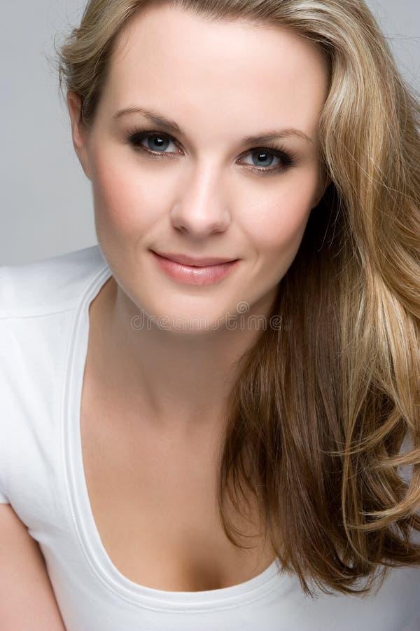 Blonde Vrouw royalty-vrije stock foto