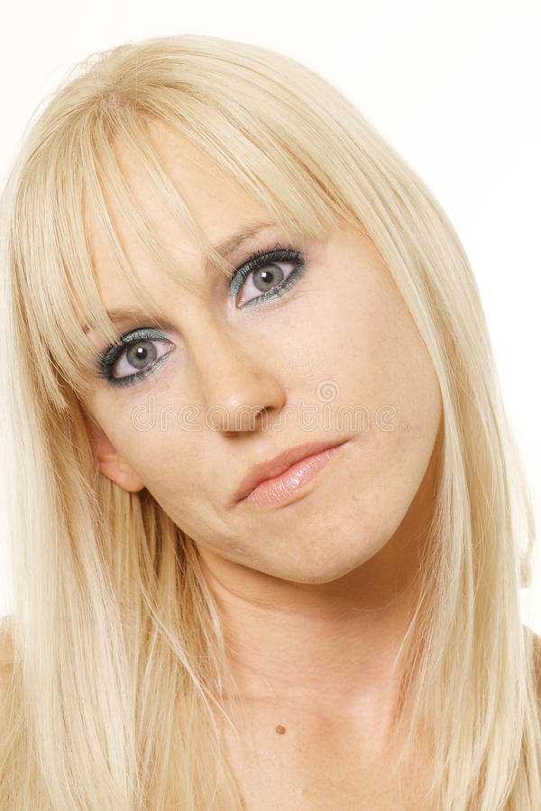 Free Blonde With Head Tilted Stock Photography - 11481052