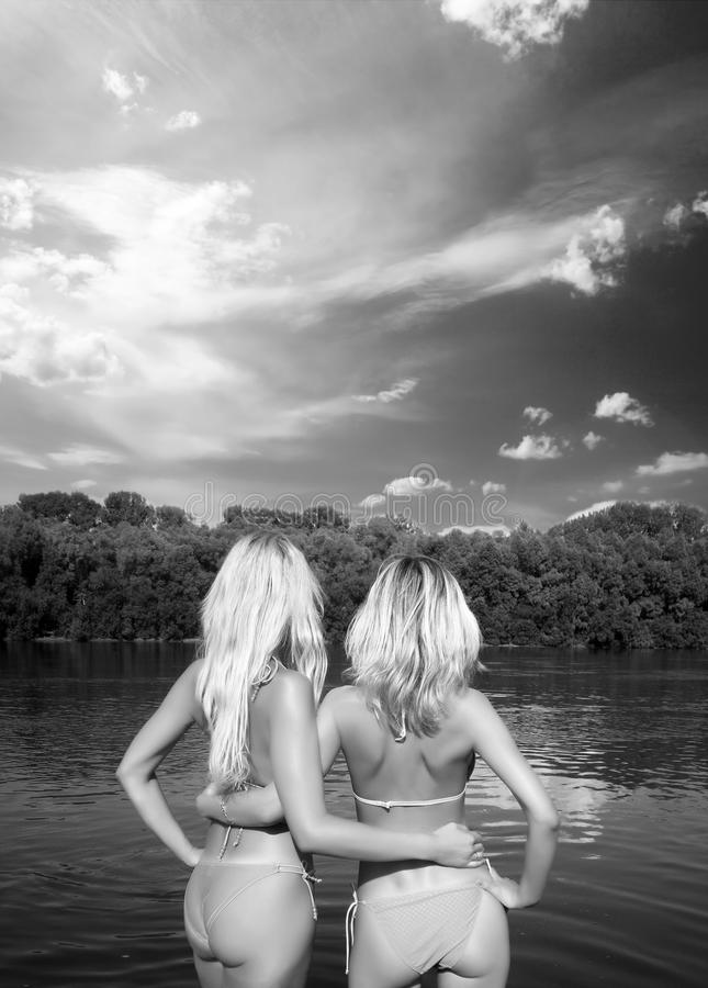 Blondes image stock