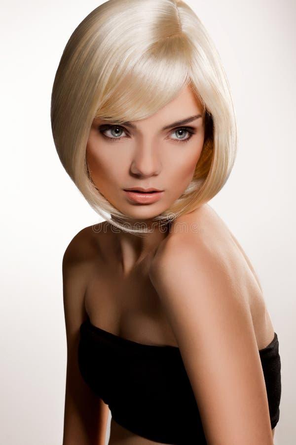 Blondes Haar. Qualitätsbild. stockfoto