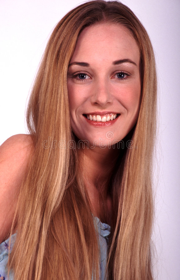 Blondes Portrait lizenzfreies stockbild