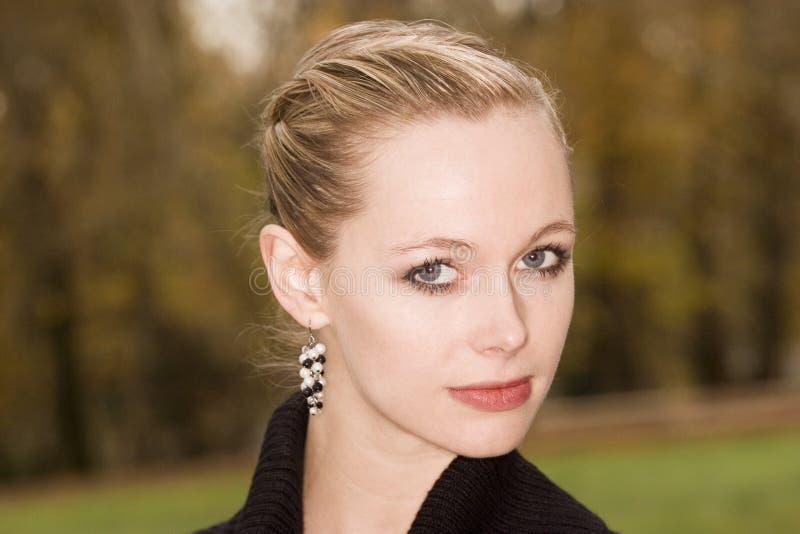 Blondes Portrait lizenzfreies stockfoto